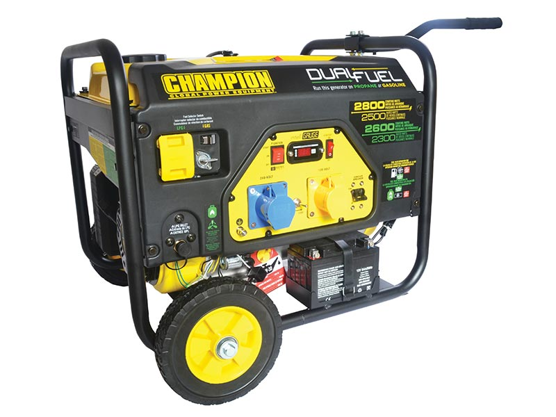 Elverk CHAMPION 2800W DUAL FUEL med EL-START