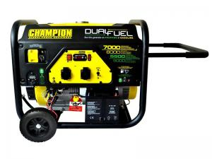 Elverk CHAMPION 7000W DUAL FUEL med EL-START