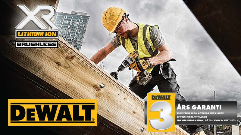 Dewalt - Guaranteed tough