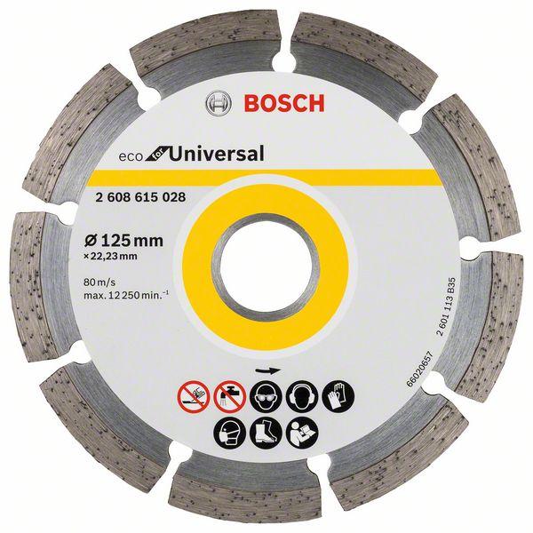 Diamantkapskiva Bosch ECO Universal 125mm