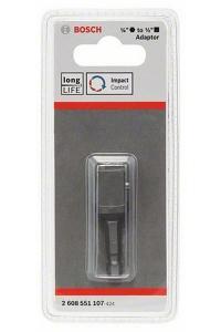 "Hylsadapter Bosch 1/4"" sexkant till 1/2"" fyrkant"