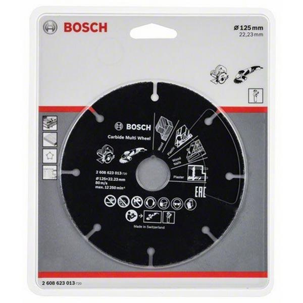 Kända Köp kapningsskiva 125mm Bosch Multi Wheel för TRÄ RH-99
