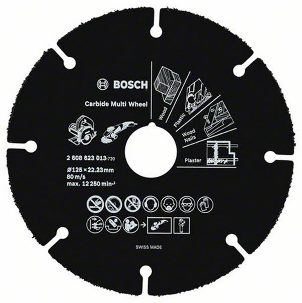 Nykomna Köp kapningsskiva 125mm Bosch Multi Wheel för TRÄ OU-57