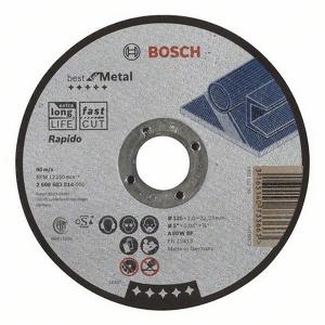 Kapskiva Bosch Best för METALL 125mm