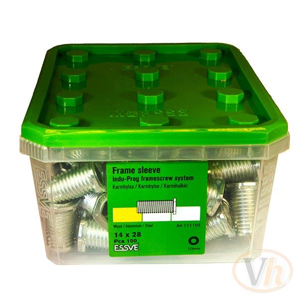 Karmhylsa Essbox Indu-Prog Essve (14 mm x 28 mm - 100st)