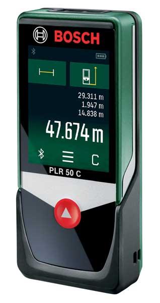 Laseravståndsmätare Bosch PLR 50C
