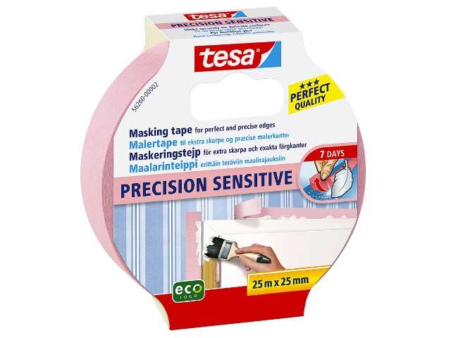 Maskeringstejp ECO Tesa Sensitive INNE 56260 - 25mm x 25m