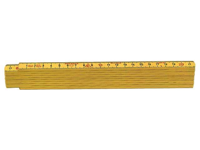 Meterstock 2m Hultafors G59-2-10 GU glasfiber
