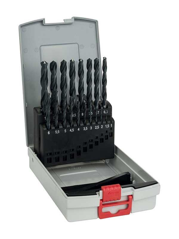 Metallborrsats 19 delar HSS-R Bosch ProBox