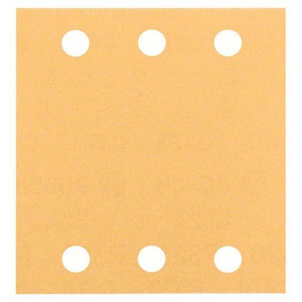 Slippapper för planslip 115x107 mm Bosch Best 10-pack
