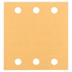Sandpapir til fladslibning 115x107 mm Bosch Best 10-pack