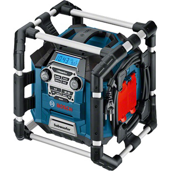 Radio & laddare Bosch GML 20 POWER BOX (UNI VERSION)