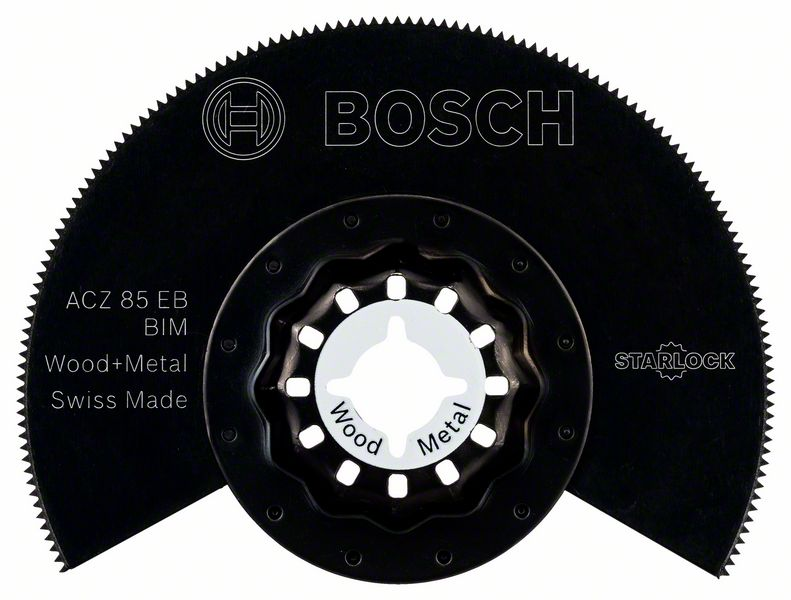 Segmentsågklinga TRÄ & METALL Bosch ACZ 85 EB BIM Starlock