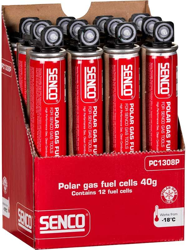 Gaspatron för spikpistol Fuel Cell 40g Senco