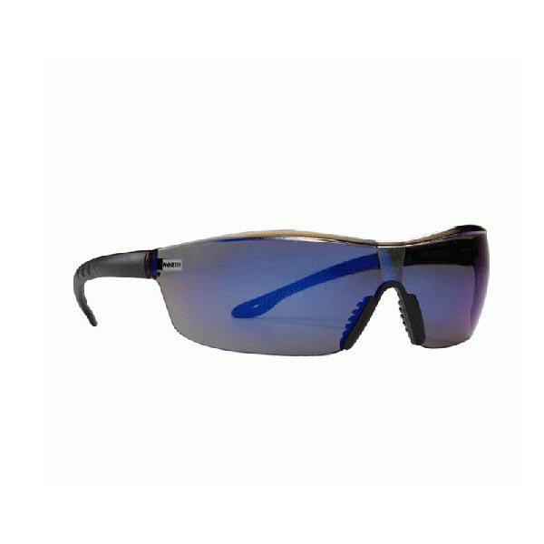 Skyddsglasögon North Tactile Mörktonad blå lins