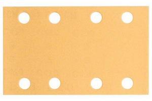 Slippapper för planslip 80x133 mm Bosch Best 10-pack