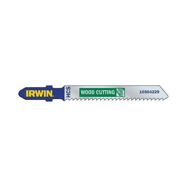 Sticksågsblad för trä, T-skaft Irwin 5-Pack (83mm)