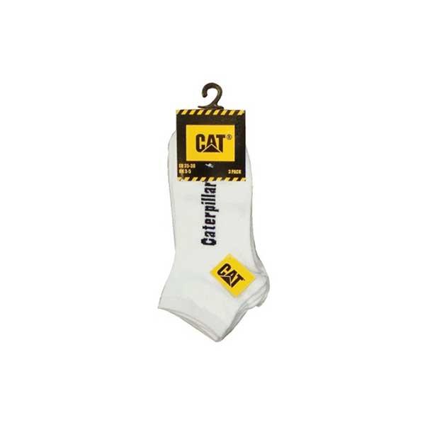 Strumpor CAT sneakers vita 3-pack