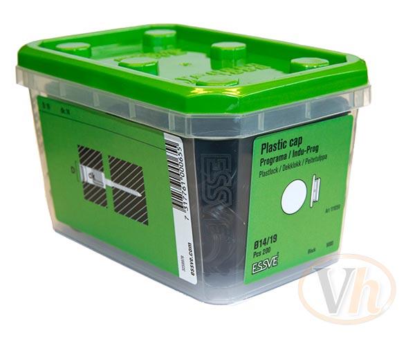 Täcklock essbox Essve (Svart)