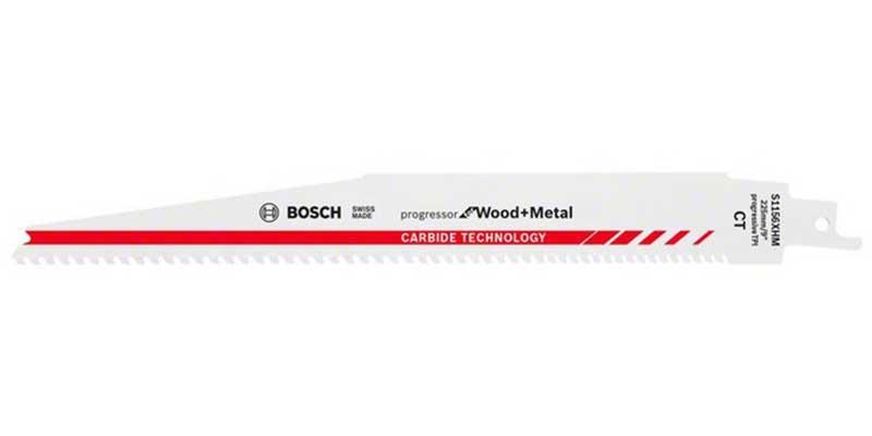 Tigersågblad för METALL & TRÄ 6-8 TPI Bosch S1156XHM Progressor Carbide
