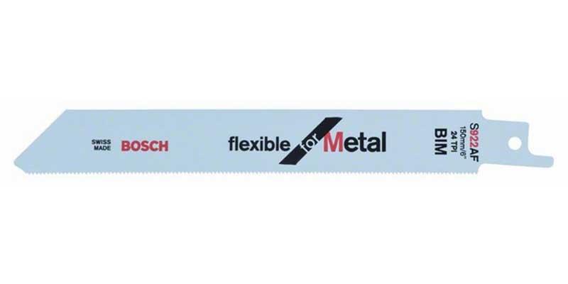 Tigersågblad för METALL Bosch Flexible S922EF 5-pack