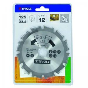Kapklinga 125 mm Tivoly Triplex 4545 för vinkelslip