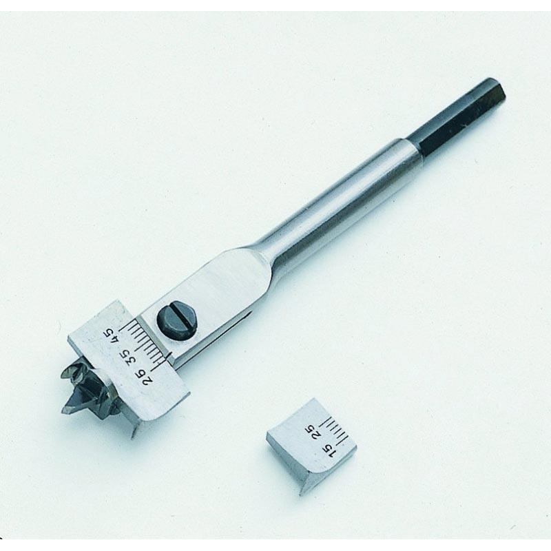 Träborr ställbar 15-45 mm Kanzawa no: 301