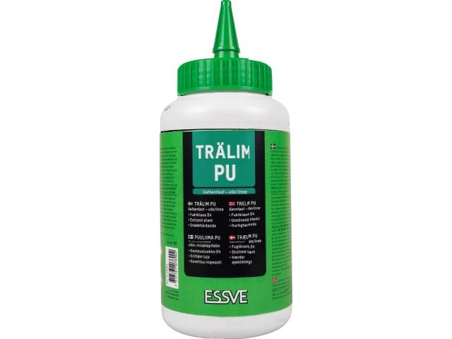 Trälim PU vattenfast UTE/INNE Essve 250 ml 6-pack