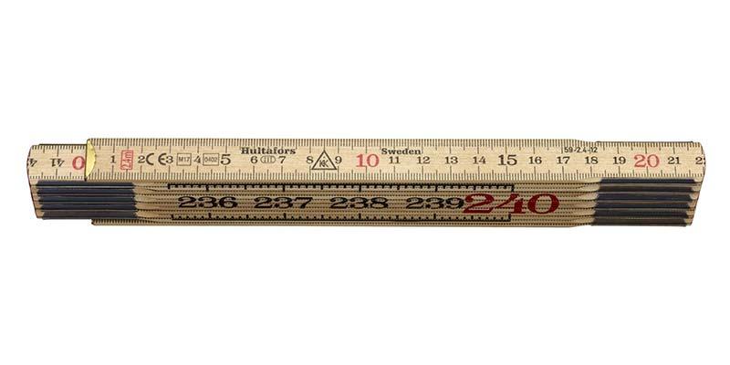 Meterstock 2.4 m Hultafors 59-2.4-12