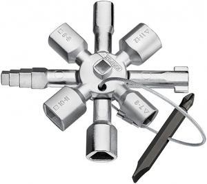 Vaktmästarnyckel TwinKey Knipex
