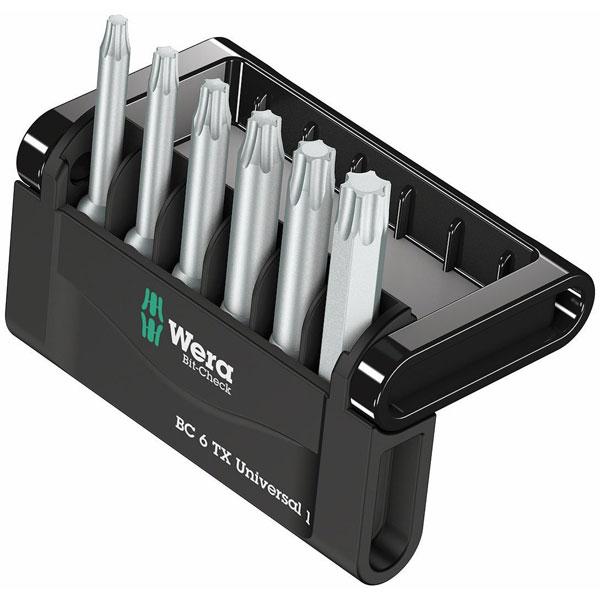 Bitssats Standard Wera Bit-Check 6 Torx 50 mm