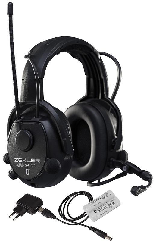 Hörselskydd ZEKLER 412RDB Bluetooth