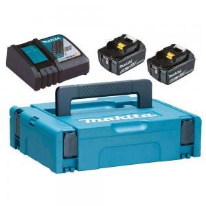 Makita Powerpack Laddpaket 18V (2x6.0Ah + snabbladdareaddare)
