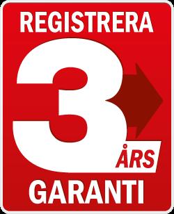 Makita Registrera 3 års Garanti