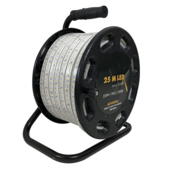 Eledge Arbetsbelysning Strip Pro LED 25m på kabelvinda