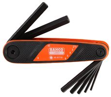 Bahco Insexnyckelsats 2,5-10 mm