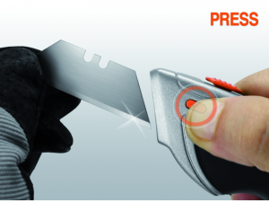Bahco Universalkniv med skjutbart blad