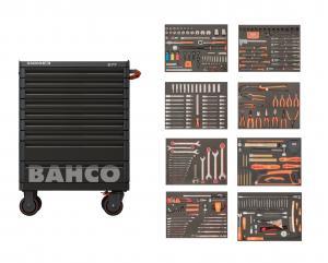 Bahco Verktygsvagn AUTO med 9 lådor och 319 verktyg