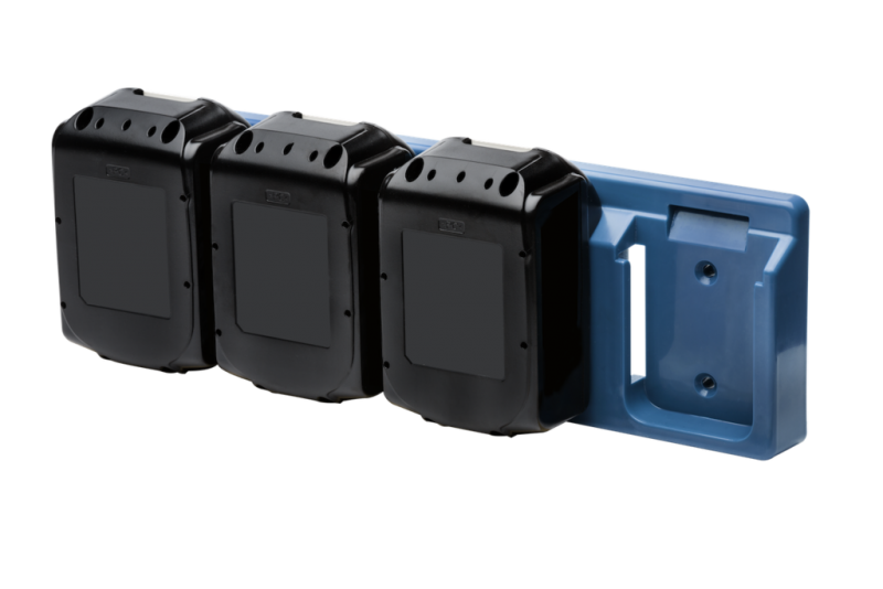 Batterihållare, för Makita 18V batteri