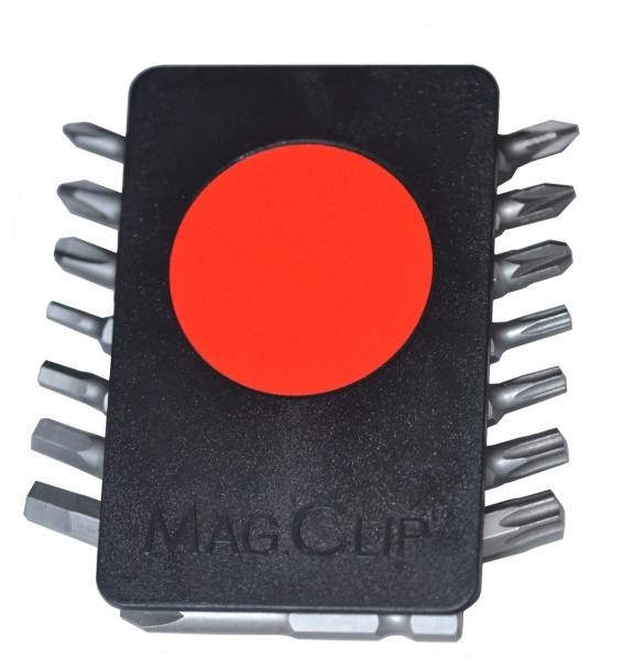 Bitssatshållare MagClip med Neomagnet 15 delar