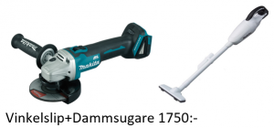 Makita DGA504Z Vinkelslip 125mm 18V (naken)