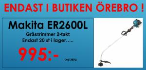 Makita ER2600L Grästrimmer 2-takt