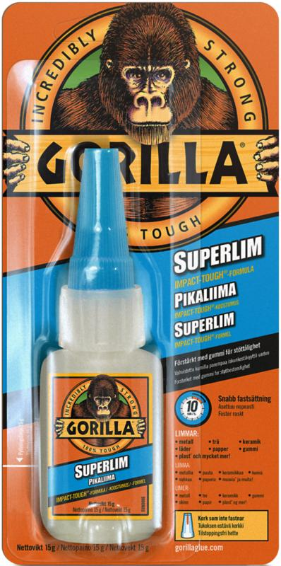 Gorilla Superlim 15 g