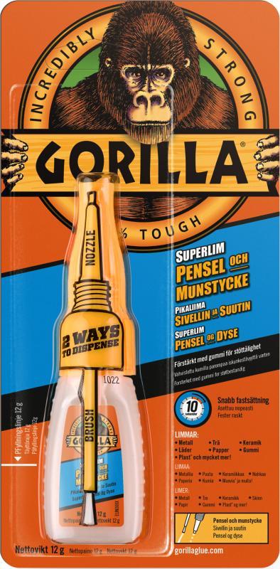 Gorilla Superlim m.pensel 12 g