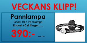 Coast HL7 Pannlampa Withe edition.