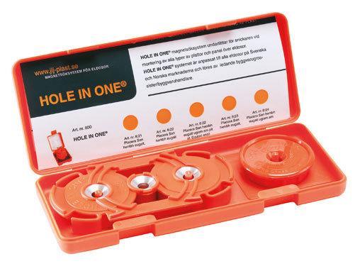 Hole In One dossöksystem för dubbeldosa