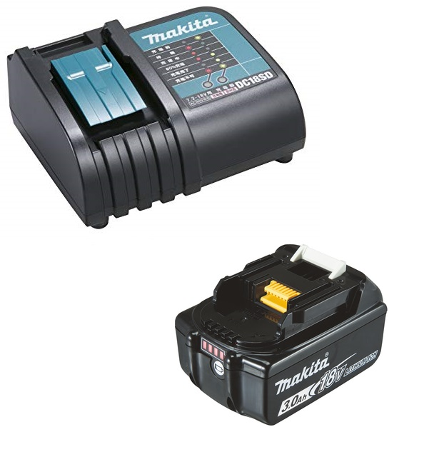 Makita Powerpack Laddpaket 18V (1x 3.0Ah + laddare)