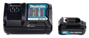 Makita Laddpaket 12V (Laddare +1x 2.0Ah )