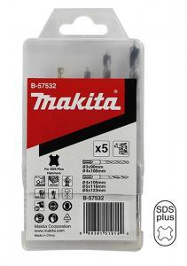 Makita Borrsats 5-pack SDS-Plus