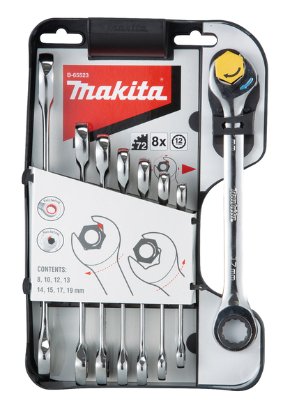 Makita B-65523 Spärrkombinycklar 8-19mm